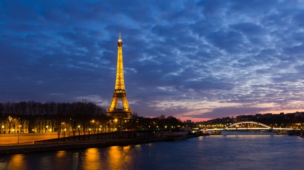 Paris, at Dusk